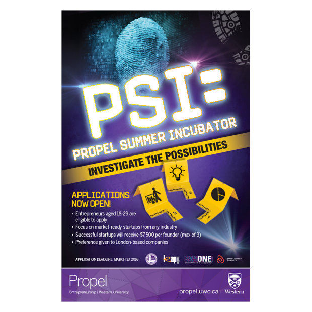 PSI Propel Summer Incubator
