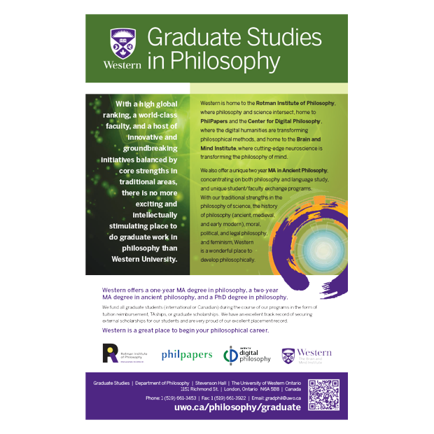 Graduate Studies in Philosophy