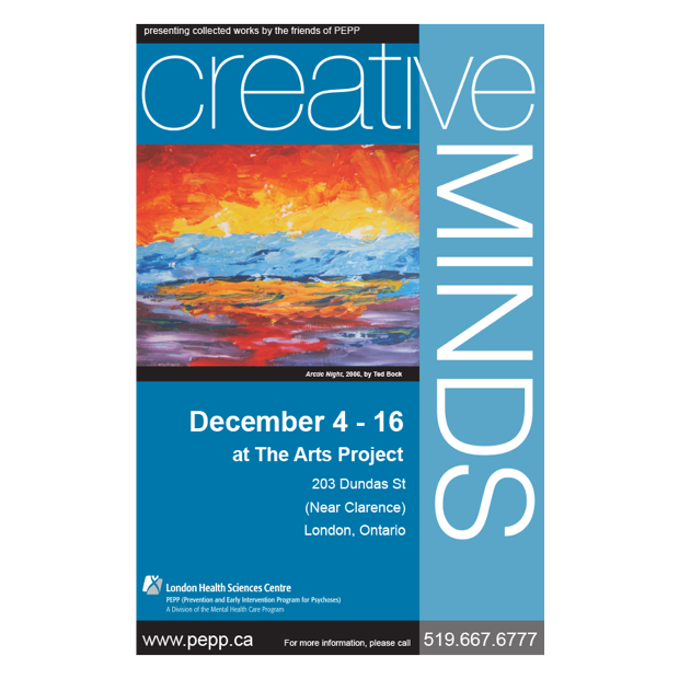Creative Minds Art Exhibit